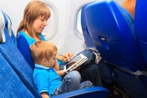 Flying-with-Child